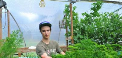 17-year-old Aquaponics Innovator | Wellington Aquaponics | Scoop.it