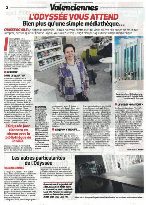 L'Odyssée vous attend | Revue de presse | Scoop.it