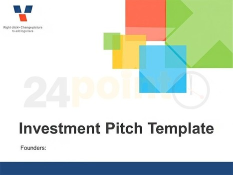 Investor Pitch - Editable Business Template | Angel Investor | Scoop.it