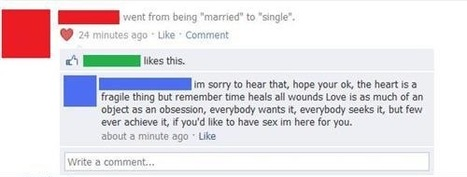 The most awkwardly public breakups in Facebook history.   total nonsense, everything i like   Scoop.it