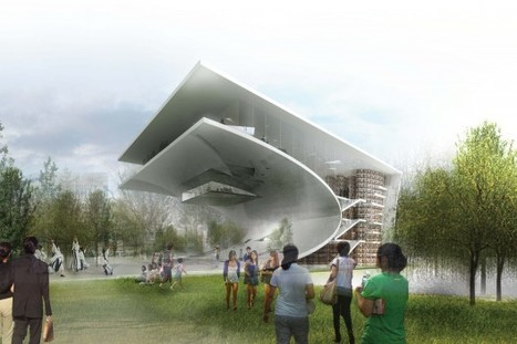 Daegu Gosan Public Library Competition Entry / wHY Architecture ... | Professional development of Librarians | Scoop.it