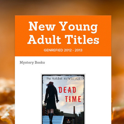 New Young Adult Titles   YA Literature   Scoop.it