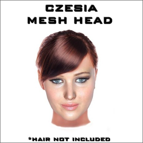 Wearable Jeniffer Mesh Head by Sanfranzisko | Teleport Hub (EXPIRE MARCH 08 2013) | Second Life Freebies | Scoop.it