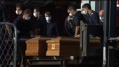 Ramp Lampedusa: Kisten naar Sicilië | Vluchtelingen en Asielzoekers in België | Scoop.it