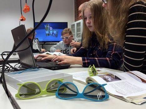 Löytöretki korvakäytävään oppitunnilla – amerikkalainen tv-jätti kävi tutustumassa suomalaiseen 3D-opetukseen | Digital TSL | Scoop.it