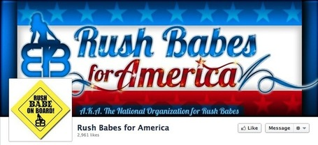 Limbaugh 'Rush Babes for America' | Coffee Party Feminists | Scoop.it