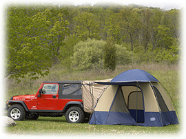 Go camping with a Jeep tent | Best Jeep Guide.com | Jeep Wrangler | Scoop.it