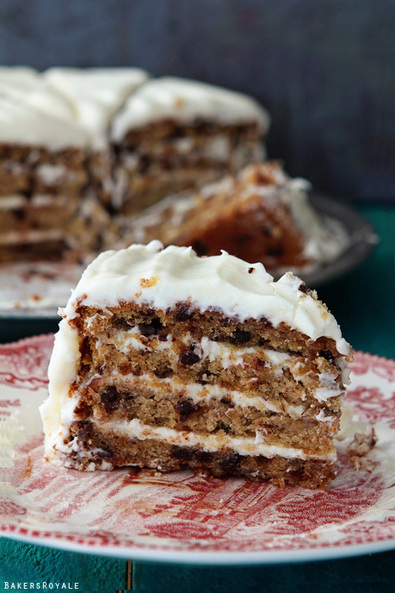 #Recipe - Chocolate Chip Banana Cake | RECIPES WITH CHOCOLATE | Scoop.it