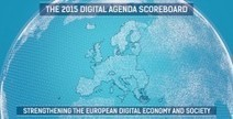"Digital Agenda Scoreboard 2015: Most targets reached, time has come to lift digital borders | L'impresa ""mobile"" 