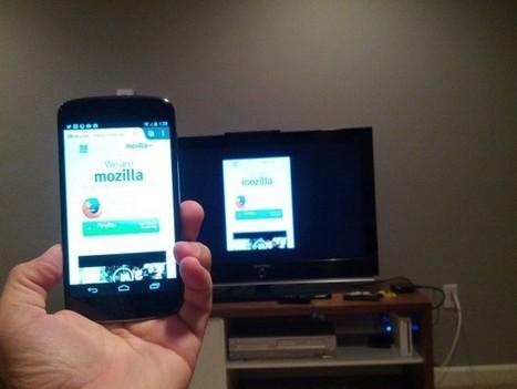 Mozilla al lavoro sul mirroring dei tab da Firefox per Android | Spazio mobile | Scoop.it