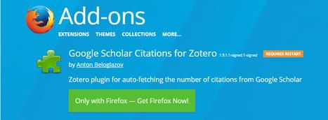 Extensión de Zotero para ordenar citas por Google Scholar | estrategia pedagogica | Scoop.it