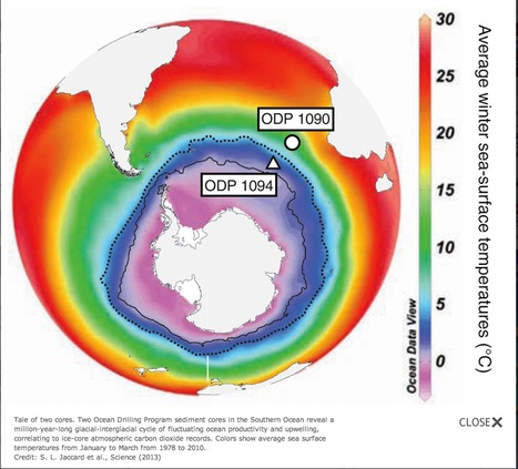 Warming World Caused Southern Ocean to Exhale | Amazing Science | Scoop.it