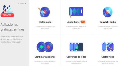 123apps, colección de utilidades online para editar audio y vídeo | Comunicación, interacción, colaboración y participación. | Scoop.it