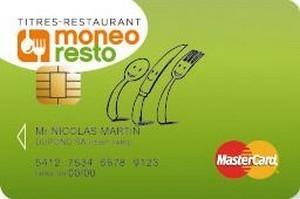 Le titre-restaurant pourra être dématérialisé dès avril 2014   Moneo Resto 1ère carte Titres-Restaurant   Scoop.it