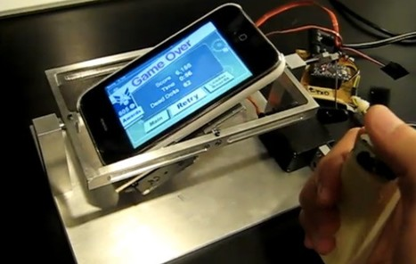iPhone meets Arduino, tilt joystick for mobile games results (video) -- Engadget | Arduino | Scoop.it