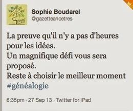 100 Mots pour un vie. ~ La Gazette des Ancêtres | Histoire Familiale | Scoop.it