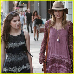 Taylor Swift Goes Shopping with Hailee Steinfeld   Childrens Style   Scoop.it