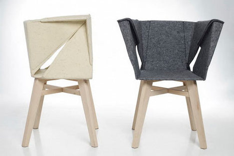 The origami took over furniture / by KAKO.KO Design Studio | Du mobilier, ou le cahier des tendances détonantes | Scoop.it