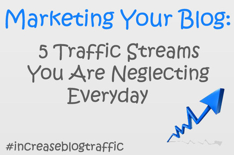 Marketing Your Blog: 5 Traffic Streams You Are Neglecting Everyday - ProMarketerz | Public Relations & Social Media Insight | Scoop.it