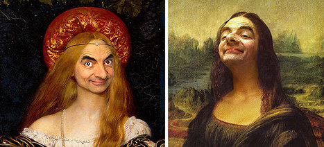 Caricature Artist Inserts Mr Bean's Face Into Historic Portraits | 16s3d: Bestioles, opinions & pétitions | Scoop.it