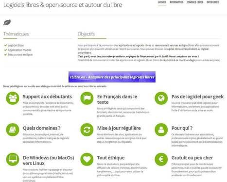 cLibre : Logiciels libres équivalents aux logiciels propriétaires | Ressources informatique et classe | Scoop.it