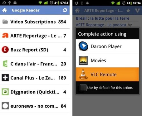 Utilisez Google Reader comme télécommande intelligente | Teaching in the XXI century | Scoop.it