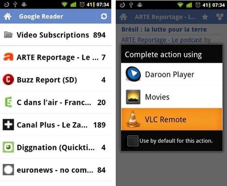 Utilisez Google Reader comme télécommande intelligente | Teaching in the XXI Century | Scoop.it