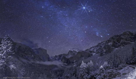 Twitter / SciencePorn: Yosemite, USA, Winter Night. ... | Yosemite and its wonders | Scoop.it