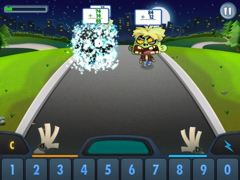 Math vs Zombies for Fluency | iPad Apps for education | Scoop.it