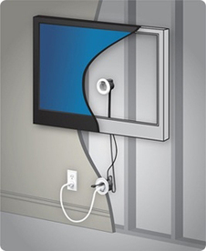 Legrand Offers a Do-it-Yourself Way to Hide Wall-Mount TV Cords - Virtual-Strategy Magazine (press release) | Do it yourself projects | Scoop.it