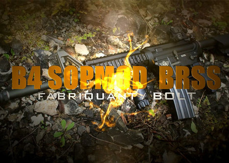 Airsoft Review: Bolt B4 BRSS SOPMOD | Popular Airsoft | Airsoft Showoffs | Scoop.it