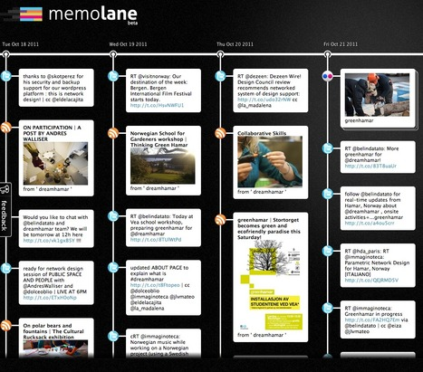 DreamHamar Memolane | See, search, and share your life | The Nomad | Scoop.it