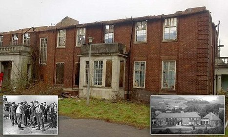 RAF base that survived Nazi bombing is destroyed by arsonists | Modern Ruins, Decay and Urban Exploration | Scoop.it