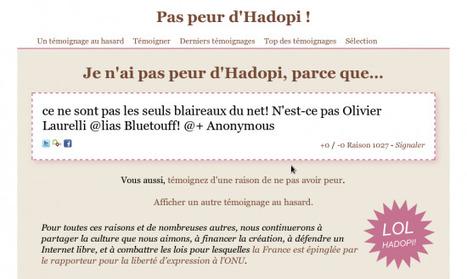 Les communicants de l'Hadopi soupçonnés de dénigrement mal déguisé | Exemples à ne pas suivre sur les réseaux sociaux | Scoop.it