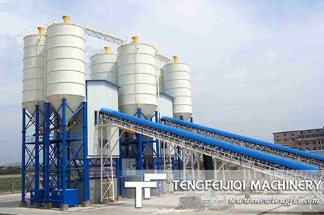 HZS Concrete Batching Plant as the site of a one-time amount of | Mobile Concrete Mixing Plant | Scoop.it