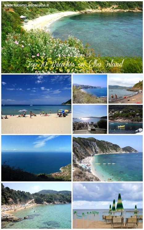 Top 10 beaches on Elba Island in Tuscany | Holiday in Pisa | Scoop.it