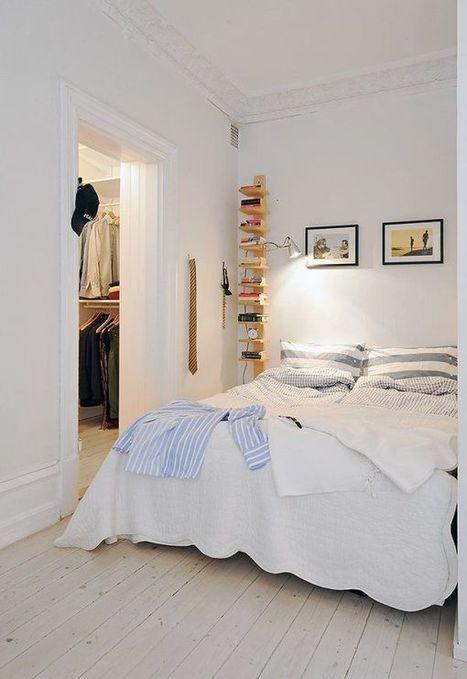30 Beautiful & Modern Swedish Bedroom Designs | Homey home | Scoop.it