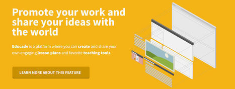 Educade | Find, create and share lesson plans and teaching tools to empower your classroom | Linking Critical Thinking and Technology | Scoop.it