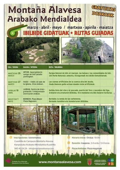 Rutas guiadas por Montaña Alavesa | Mendialdea.info | Scoop.it