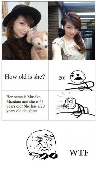 How old do you think she is? | Funny Pics | Funny Pictures | Funny Videos | Lol Videos | lolpictures | Scoop.it