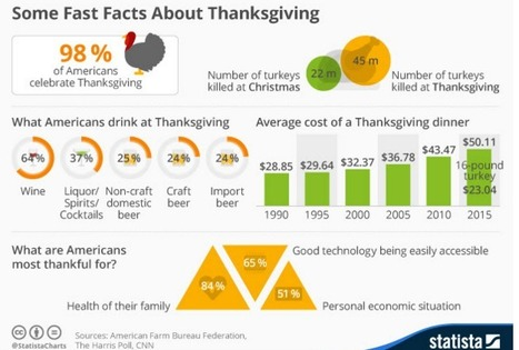 Infographic: Some Fast Facts About Thanksgiving | Public Relations & Social Media Insight | Scoop.it