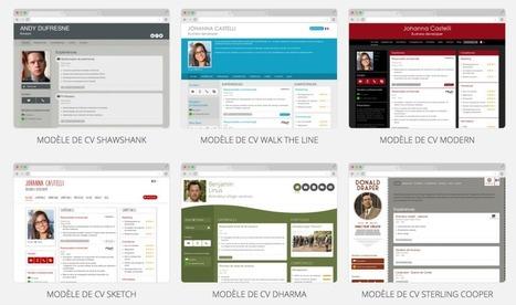 DoYouBuzz. Créer facilement un Cv en ligne - Les Outils du Web | Les outils du Web 2.0 | Scoop.it