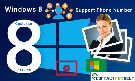 Instant Customer Support Number for Windows 8 | Costomer Support and Services | Scoop.it