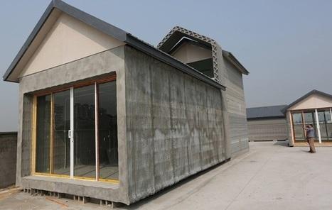Impression 3D : 10 maisons bâties en 24h | 3D | Scoop.it