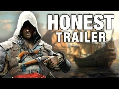 ASSASSIN'S CREED 4 (Honest Game Trailers) | electonics | Scoop.it