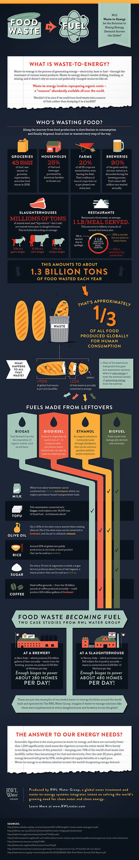 Food waste should be used for fuel | MNN - Mother Nature Network | Global Recycling Movement | Scoop.it