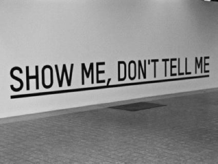 Show, don't tell: 5 consigli sulla comunicazione online | COMUNICAZIONE & DINTORNI | Scoop.it
