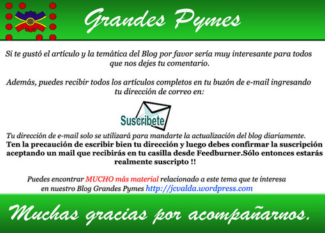 Seis competencias, seis | grandes Pymes | Dave Ulrich en español | Scoop.it