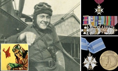 Medal collection of air ace who flew in BOTH world wars, shot down doz | British Genealogy | Scoop.it