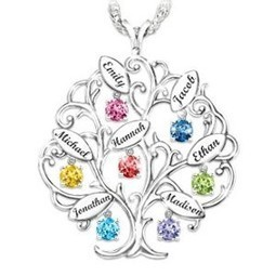 Family Tree Necklaces | Best Gifts 2015 - Unique Gift Ideas | Scoop.it